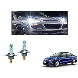 Autonity Osram H4 6000K Car Night Breaker Unlimited Headlight Bulbs For Volkswagen Vento