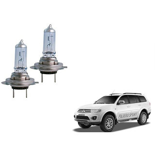 Autonity Hella H7 12V 100W Headlight Bulbs Set Of 2 For Mitsubishi Pajero