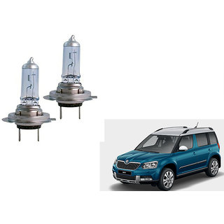 Autonity Hella H7 12V 100W Headlight Bulbs Set Of 2 For Skoda Yeti