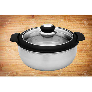 Sayee Stainless Steel Serving Casserole (1500 ml)