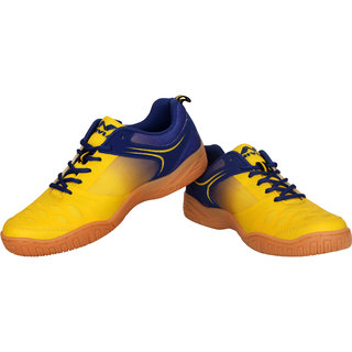 Nivia Men'S Yellow  Hy- Court Badminton Shoes