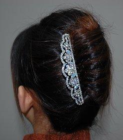 Bridal Comb clip for French bun