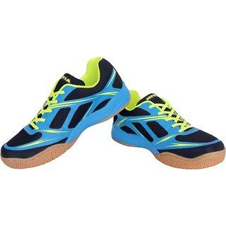 Nivia Men'S Blue Super Court Badminton Shoes