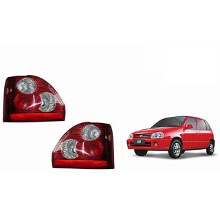 Autonity Car Tail/Brake Light Assembly(SET OF 2)- Maruti Zen Old