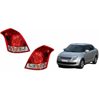 Autonity Car Tail/Brake Light Assembly(SET OF 2)- Maruti Swift Dzire Old