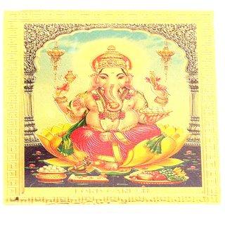 Ultimate Gold Plated Shri Ganesh For Car Dashboard