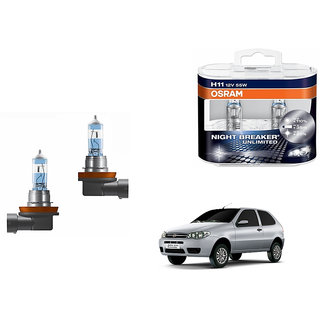 Autonity Osram H1 5000K Car Night Breaker Unlimited Bulbs for Fiat Palio