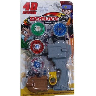 BEYBLADE 4D SYSTEM WITH HANDLE LAUNCHER