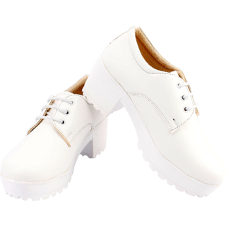 Women's Derby Platform Shoes
