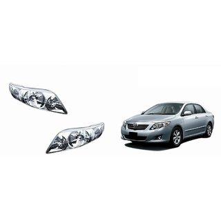 Autonity Car Crystal Headlight Assembly SET OF 2- Toyota Corolla Altis