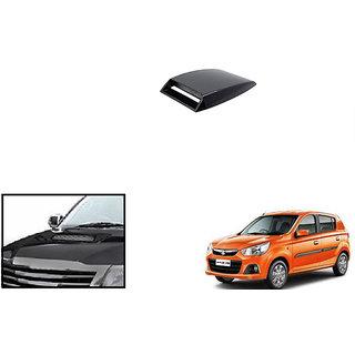 Autonity  Car Turbo Style Air Intake Bonnet Scoop BLACK For Maruti Alto K10