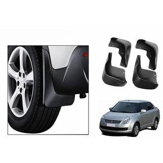 Autonity Car Plastic Mud Flaps Set 4 Pcs-Maruti Dezire