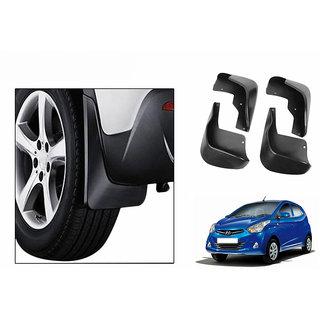 Autonity Car Plastic Mud Flaps Set 4 Pcs-Hyundai Eon