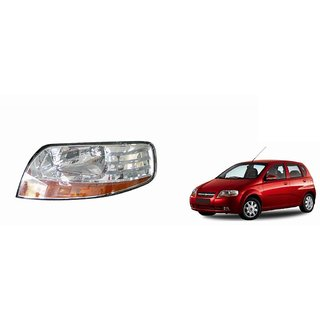Autonity Car Crystal Headlight Assembly LEFT   Chevrolet Aveo UVA