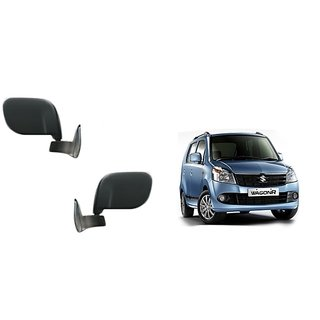 Autonity Car Manual Side Rear Mirror Assembly SET OF 2 -Maruti WagonR KSeries