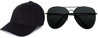 Fashion Forest Combo of Cap, Glasses