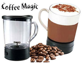 Coffee Magic Frothing Mug Gourmet Treat Coffee in Seconds