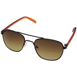 08fbe64eced8f Buy Fastrack M123BR3 Aviator UV Protection Sunglasses Black   Brown ...