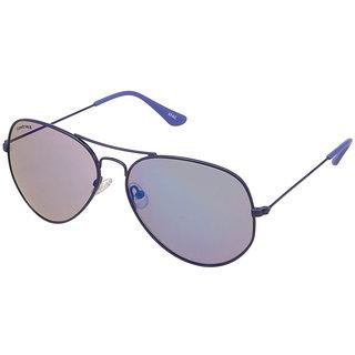 76342063040 Buy Fastrack M142BU1 Aviator Mirrored Sunglasses Blue / Blue Online - Get  40% Off