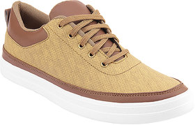 Namah Men's Beige Casual Shoe