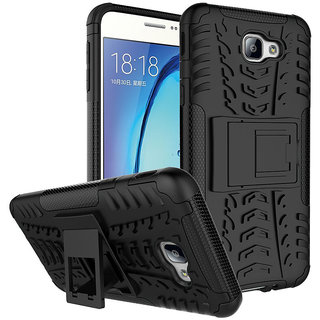 Samsung Galaxy J7 Plus Hybrid Tough Armour Defender Back Case Cover