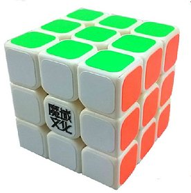 Nyubi  3 x 3 x 3 Speed Cube White Puzzle