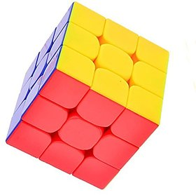 Nyubi  Boys 3 x 3 FeiWu Stickerless Speed Cube