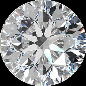 Heera diamond  6.0 carat cubical zircon CZ planet venus gemstone