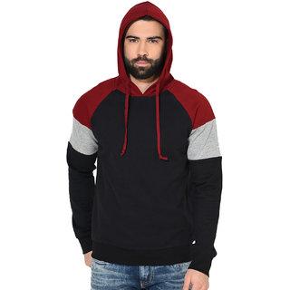 Gritstones Full Sleeve Hooded Fleece Jacket