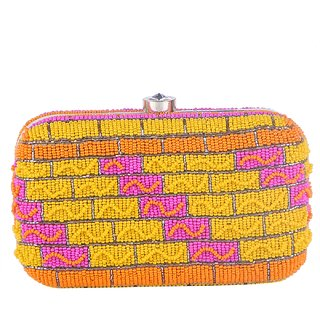 Tarusa Multicolor Embroidered Clutch