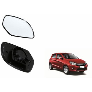 Autonity Car Rear View Side Mirror Glass LEFT-Maruti Celerio