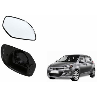 Autonity Car Rear View Side Mirror Glass LEFT-Hyundai i20 VX Type 2