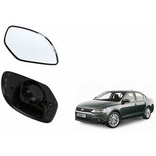 Autonity Car Rear View Side Mirror Glass LEFT-Volkswagen Jetta Type 2