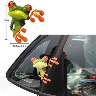 DLT 3D Peep Funny Car Stickers Truck Window Decal Graphics Sticker