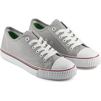 DeVEE Always In Fashion Lace-up Grey Canvas Shoes