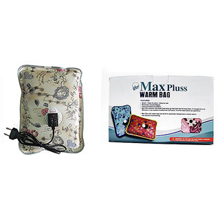 Max Pluss Rechargeable Heating Pad For Body Pain Relief (Multi color)