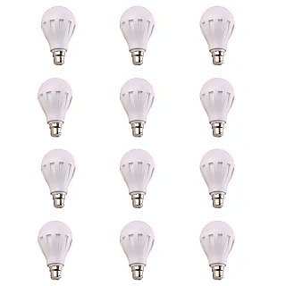7W Led Bulbs Set Of 12 Pcs