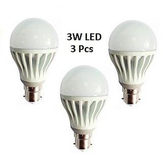 3 pcs. LED Bulb 3 watt