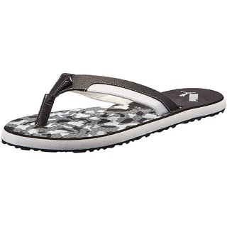 6ada94cfe6f0 Buy Puma Wrens Black Slippers and Flip Flops Online   ₹1499 from ...