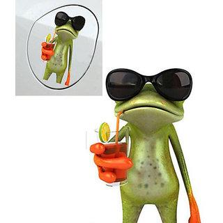3D Funny 3d Green Lying Frog Car Stickers Wall Truck Window Vinyl Decal Sticker