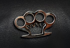 Brass Knuckle punch, Knuckle duster, self Defense duster, Self Defense For Camping Hiking, Martial Art Training, Knuckle