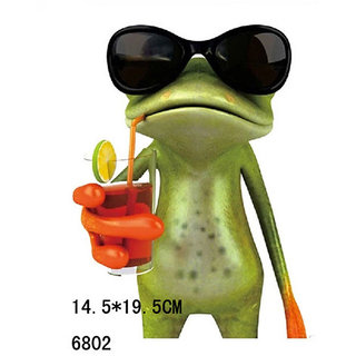 3D Frogs Funny Car Stickers Car Styling Decal Sticker Decoration High Waterproof