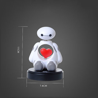 Big Hero 6 Baymax Robot Bobble Head Shaking Head Model air freshener Car perfume