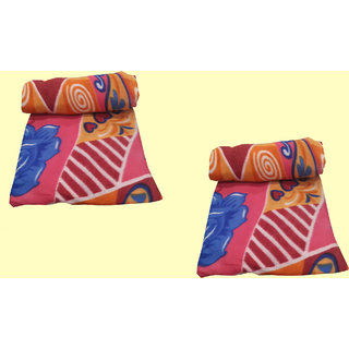 Welhouse India Premium-quality-Polar-fleece- 2 blankets
