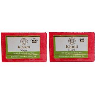 Khadi Mogra Soap  125 gm (Pack of 2)