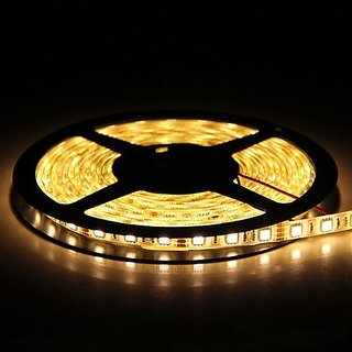 LED Strip Lights,Warm White,300 Units SMD 5050 LEDs,Waterproof,12 Volt LED Light Strips, Pack of 16.4ft/5m