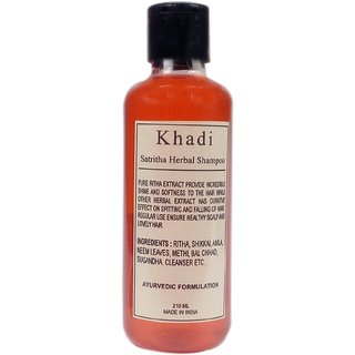 Khadi Satritha Shampoo 210 ML (Pack of 1)