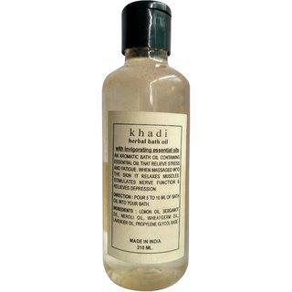 Khadi Bath Oil 210ml