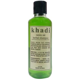 Khadi Neem Sat Shampoo 210 ML (Pack of 1)