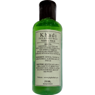 Khadi Tulsi Oil 210ml (Pack of 1)
